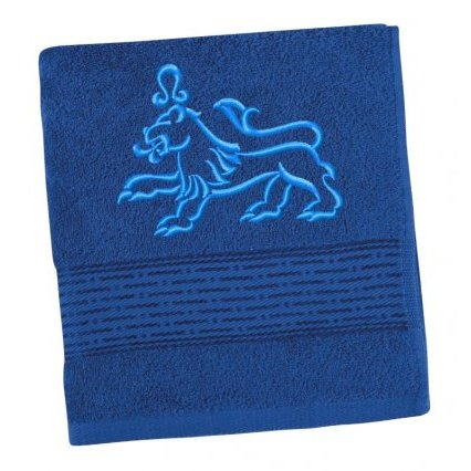 Froté ručník proužek se znamením