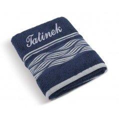 Froté ručník Vlnka se jménem TATÍNEK