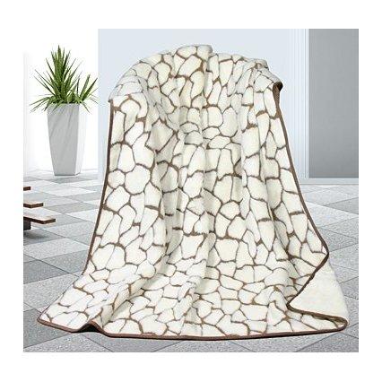 Caschmere deka DUO kameny 540g/m2