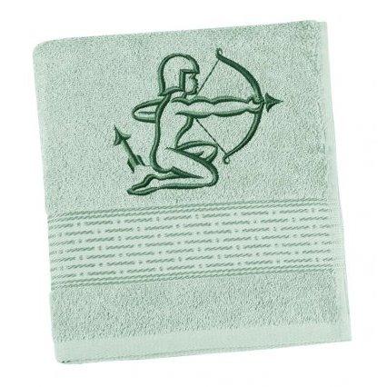 Froté osuška proužek s výšivkou znamení zvěrokruhu